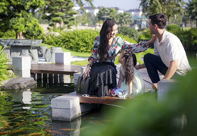 Vin Homes Central Park - The Villas - Gia Dinh Vui Choi