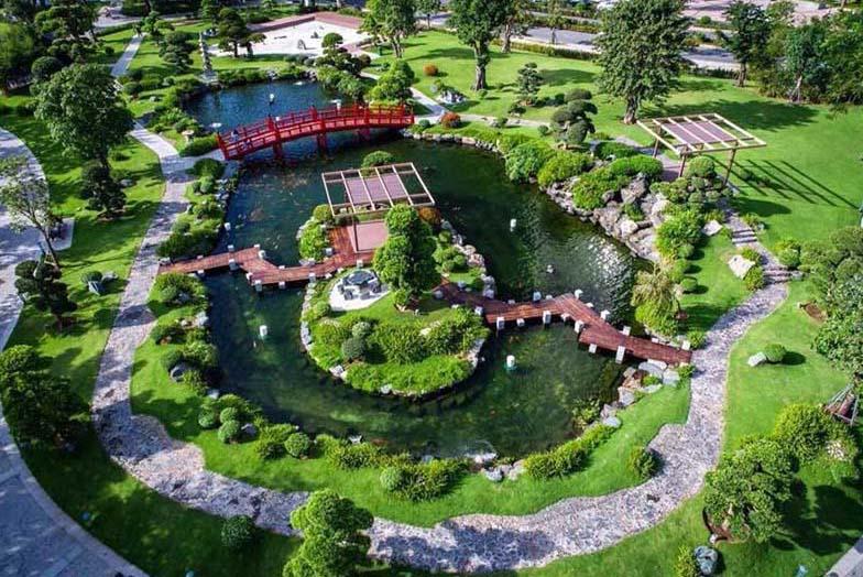 Vin Homes Central Park - The Villas - Cong Vien Canh Quan